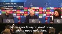 Football/Ligue des champions : Pour Favre, la défense de Dortmund sera déterminante