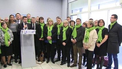 Gaël Perdriau présente son plan - Reportage TL7 - TL7, Télévision loire 7