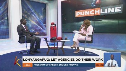 Dont lynch Ruto over corruption claims Lonyangapuo