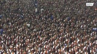 الهند: أكثر من 10000 راقص لتحطيم رقم قياسي جديد