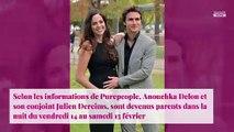 Anouchka Delon maman : son compagnon  lui laisse un magnifique message d'amour