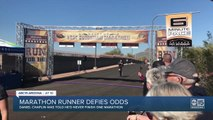 Runner with Down syndrome defies odds at Lost Dutchman Marathon in Apache Junction