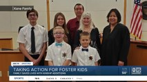 Family saves lives with kinship adoptions