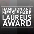 Hamilton and Messi share Laureus award