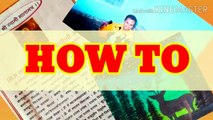 How to Laminate at home documents, photos, painting with plastic sheet / No lamination machine