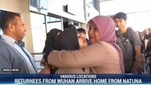 Returnees From Wuhan Arrive Home From Natuna