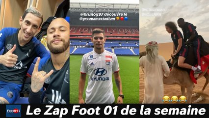 WTF : Mbappé à la cool,  Benedetto ne rigole pas, Guimaraes idole de Lyon