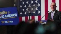 Democratic rivals take aim at billionaire Bloomberg