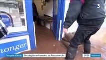 Tempête Dennis : fortes précipitations et vents violents du Royaume-Uni au nord-ouest de la France