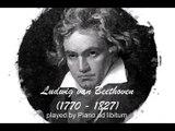 Ludwig v. Beethoven - Mondscheinsonate - Moonlight sonata - Sonata claro de luna - Piano version