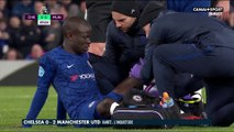 Inquiétude pour N'Golo Kanté sorti sur blessure