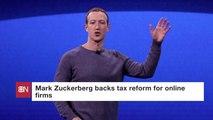 Mark Zuckerberg On Taxes