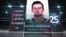 Player of the Week - Alexis Lafrenière