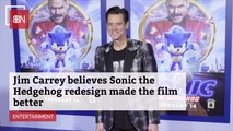 Jim Carrey Is Happy With The 'Sonic The Hedgehog' Redesign