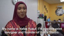 Somali refugees rediscover lost arts and crafts skills in an East London workshop
