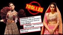 Sara Ali Khan BADLY Trolled For Her BRIDAL Rampwalk, FANS Insult Her For Love Aaj Kal