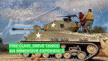 The real shooting, tank-driving experience you didn't know existed