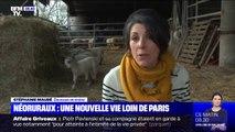 Stéphanie a quitté Paris il y a 10 ans et ne regrette pas sa nouvelle vie aux côtés de ses brebis