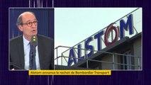 """Projet de rachat de Bombardier Transport par Alstom : """"Une bonne nouvelle"""", selon Éric Woerth"""