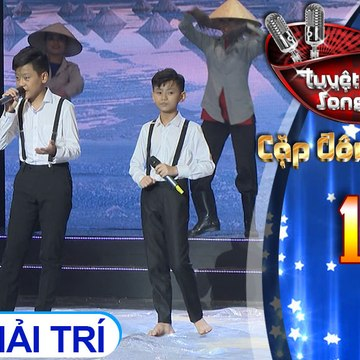 Tuyệt đỉnh song ca - Cặp đôi vàng nhí | Tập 15[4]: Khúc hát sông quê, Một khúc tâm tình của người Hà Tĩnh – Tấn Bảo, Thái Hà