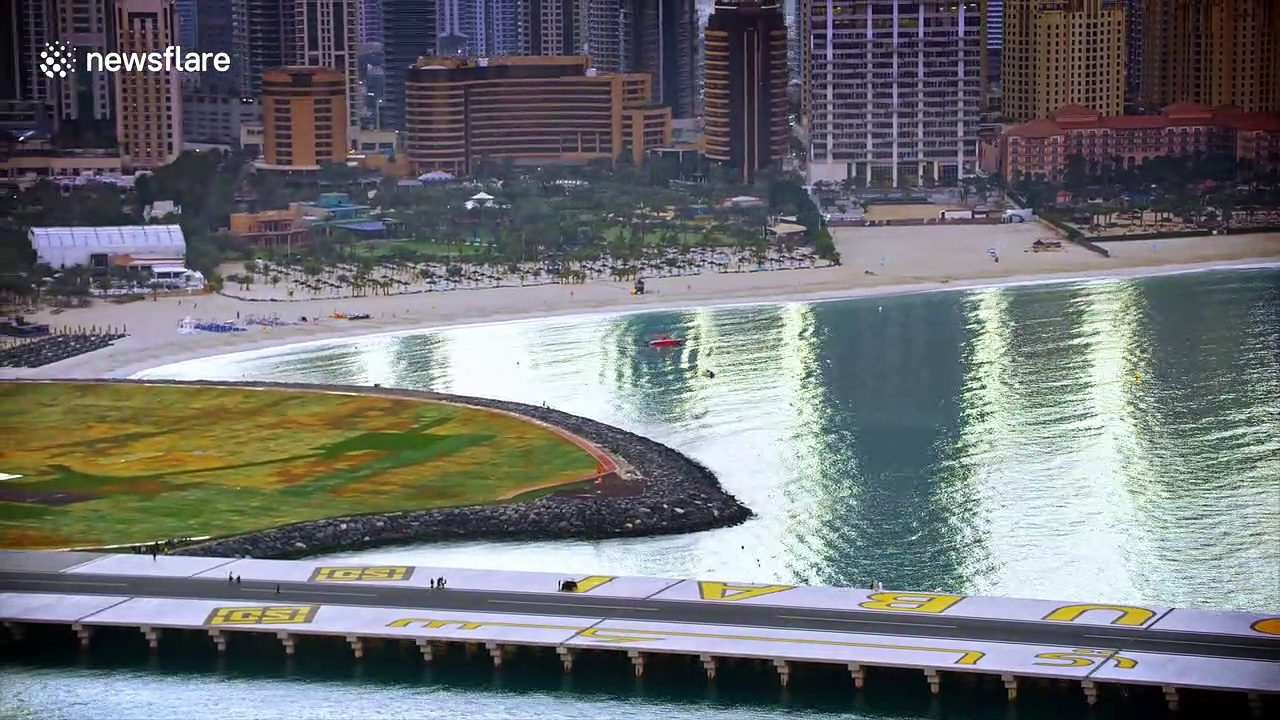 'Jetman' soars above Dubai with carbon fibre wingsuit in quest for autonomous human flight