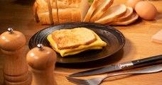 Préparez un sandwich à l'oeuf et au fromage pour vos encas !
