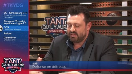 "OL, Strasbourg, Sylvinho, Caqueret, Gouiri : ""Tant qu'il y aura des Gones"" avec Rafael"