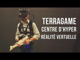 Jeux vidéo en hyper réalité virtuelle   Reportage chez Terragame