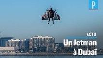 Jetman s'offre un vol « historique » dans le ciel de Dubaï