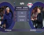 Tottenham v RB Leipzig H2H preview