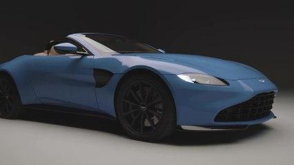 La Aston Martin - Le design extérieur
