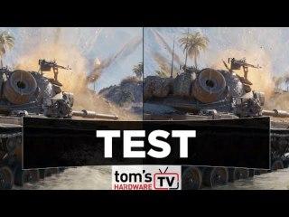Comparaison avec et sans ray tracing pour World of Tank Encore RT