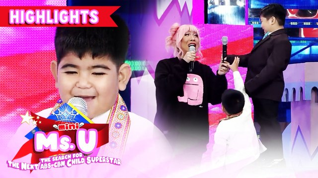 Yorme has a new poem for Vice | It's Showtime Mini Miss U