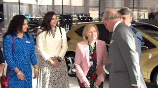 Prince Charles opens National Automotive Innovation Centre