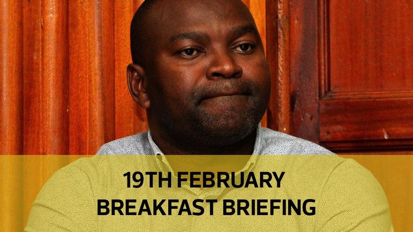 Echesa saga | Container clinics sham | Raining locusts: Your Breakfast Briefing