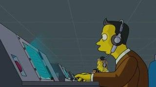 Los Simpson: La película - Escena del espionaje de la NSA