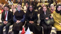 """Malcom X'in kızı İlyasa Şahbaz """"Malcom X ve Onun Dünyası"""" konferansında konuştu"""