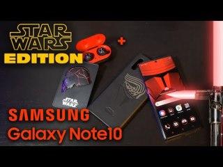 Galaxy Note10+ Star Wars Edition - unboxing et prise en main