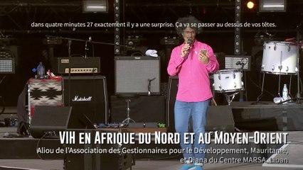 Aliou et Diana / VIH en Afrique du Nord et au Moyen-Orient