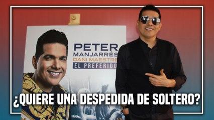 ¿Por qué se le embolató la despedida de soltero a Peter Manjarrés?