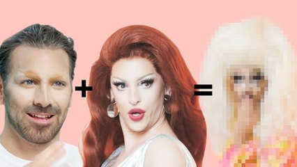 Nyle DiMarco Gets A Drag Makeover Miz Cracker