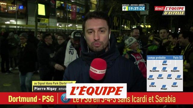 Le PSG en 3-4-3 sans Icardi ni Sarabia face au Borussia Dortmund - Foot - C1