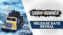 SnowRunner - Release Date Reveal Trailer (2020)