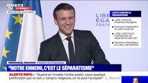 La plaisanterie d'Emmanuel Macron face à un jeune homme qui l'a interpellé pour demander sa naturalisation