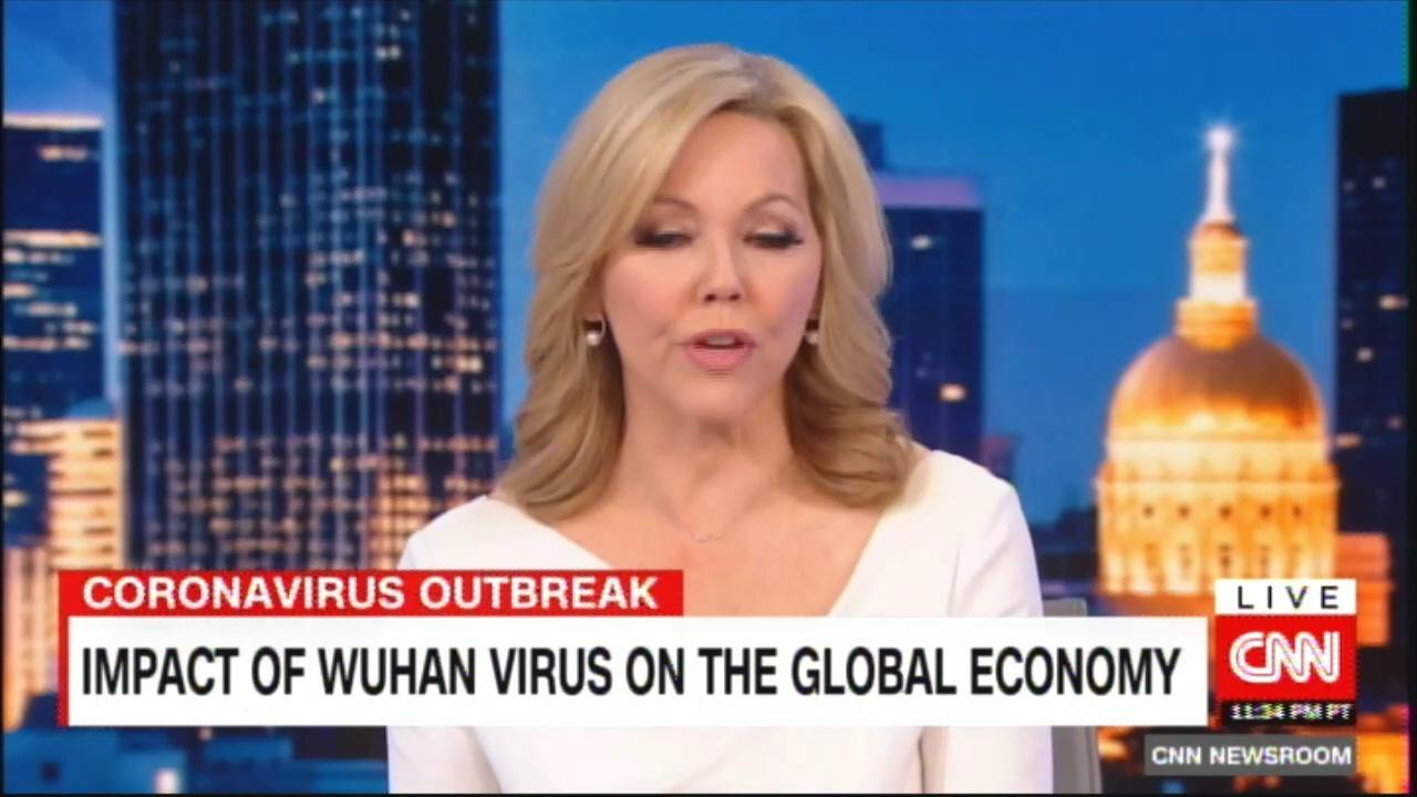 Impact of Wuhan virus on the global economy. #Wuhan #China #CoronaVirus #Economy @rosemaryCNN #News #Breaking
