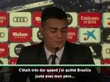 Real Madrid - Reinier fond en larmes lors de sa présentation