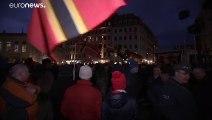 Miles de personas boicotean la manifestación de Pegida en Dresde