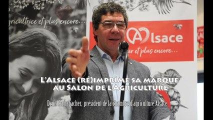 L'Alsace (ré)imprime sa marque au Salon de l'Agriculture