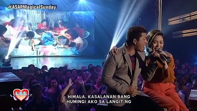 "Jay-R Siaboc and Yeng Constantino sing ""Himala"" on ASAP L.S.S."