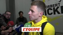 Hazard «On a bien géré» - Foot - C1 - Dortmund